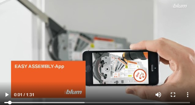 blum - Easy Assembly App - twd SK, s.r.o.